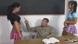 Naughty Asian Girls Sharing Cum