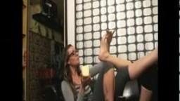 Lesbian Cheese Feet Fetish 2.0 Cacio sui Piedi di Cacio