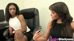 Wow, these black lesbians are hornyyy! Only lesbians know how to oral pleasure a woman