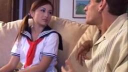Asian teen student - Tia Tanaka