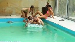 Watch bisexual interracial orgy