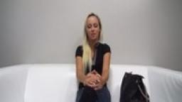 Wonderful Czech Blonde Masturbates to Anal with HUGE Dildo