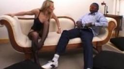 Her Brutal Interracial Gang Bang