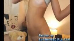 Hot blonde girl anal sex big dildo amateur video virgin teen defloration