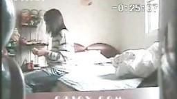 Korean couple - Hidden camera