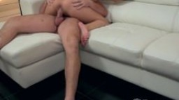 Katsuni and Manuel on the sofa - Part 2 - Live Gonzo