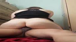 great fat ass gril rides me til cum