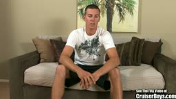 California boy jock Steve jacks his dick