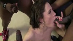 Nikita Bellucci gets DP Double Penetration from Black C