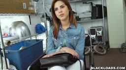 Casting a hot brunette! blk14941