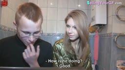Nerd shares his girl for money