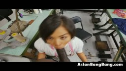 Asian Teen Beauty Milcah Halili Gets Dat Face Reamed By Dick