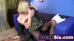 Step sis Ruth Fowler forced into banging anally