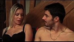 Lilou - Amateur french blonde slut gets fucked on the sofa
