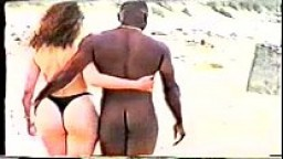 Interracial on the Beach.AVI