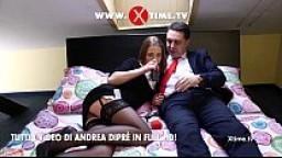 Andrea Diprè scopa una modella a Praga