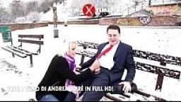 Andrea Diprè Fuck a nice bitch on the snow