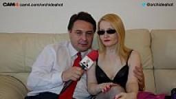 La ninfomane ORCHIDEA HOT si masturba e si scopa Andrea Diprè